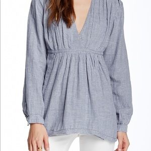 Free People All Who Wonder Blouse